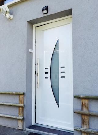 porte d'entrée pvc neoline
